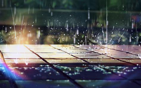 ar rainning illustration anime art nature flare wallpaper
