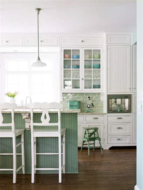 Beadboard Kitchen Cabinets  Cottage  Kitchen Bhg