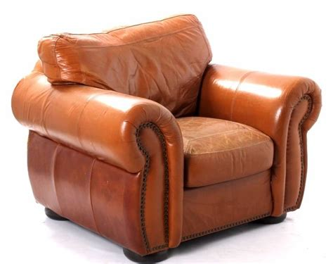 Leather Oversized Arm Chair