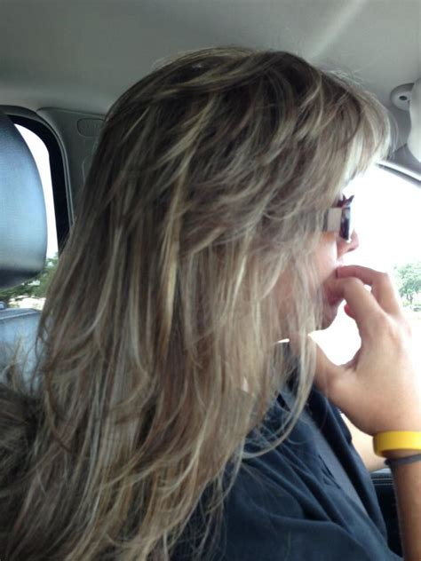 feathered hairstyles ideas  pinterest fringes