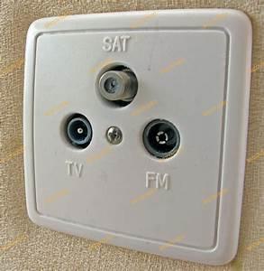 Branchement Cable Antenne Tv : sch ma prise antenne tv murale ~ Dailycaller-alerts.com Idées de Décoration