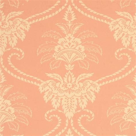 damask coral peach  wp
