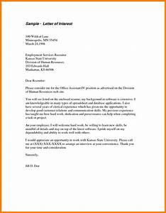 12 simple letter of interest sample legacy builder coaching With letter of interest template