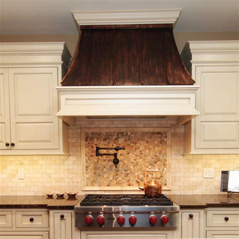 Copper Kitchen Backsplash Ideas - copper range hood kitchen modern with none beeyoutifullife com