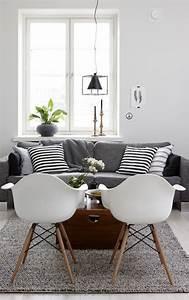 Tapis Alinea Salon : d co salon tapis alinea de couleur gris pour le salon avec meubles gris ~ Teatrodelosmanantiales.com Idées de Décoration