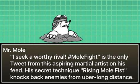 mole mr battle cats wikia