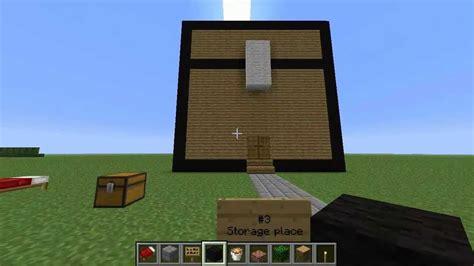 minecraft building ideas 3 storage place minecraft world storage