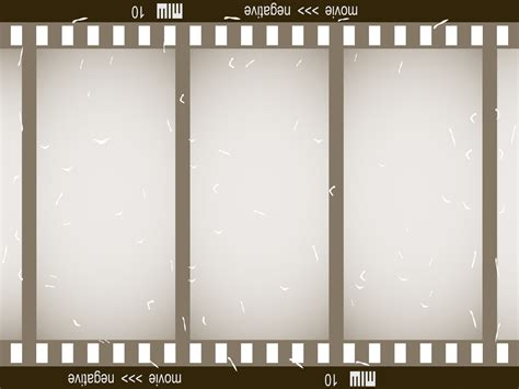 Templates Film by Old Film Strip Powerpoint Templates 3d Graphics Black