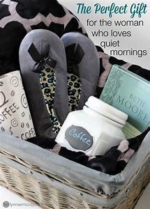 Raffle Box Ideas How To Make A Gift Basket For The Woman Who Loves Morning
