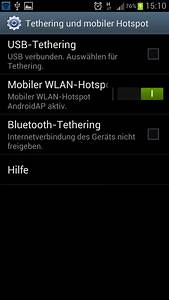 Mobiler Wlan Hotspot : samsung galaxy s3 einrichten eines mobilen wlan hotspots ~ Jslefanu.com Haus und Dekorationen