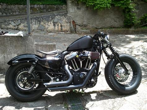 The Gallery For --> Harley Forty Eight Bobber
