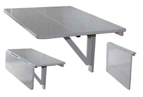 table pliante murale cuisine la table murale pliante pour un gain de place optimale