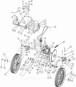 Billy Goat Mv650sph Parts Diagram For Drive  Rear Axle Assembly