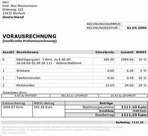 Term Rechnung : 10 proforma rechnung vorlage expense report ~ Themetempest.com Abrechnung