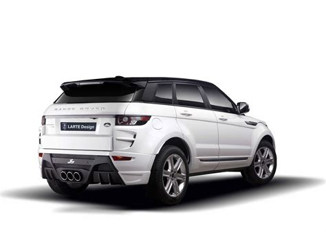land rover evoque black modified larte design range rover evoque modified autos world blog