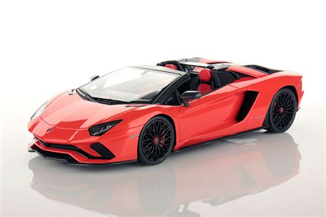 lamborghini aventador 1 of 1 roadster lamborghini aventador s roadster 1 18 mr collection models