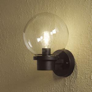 basic globe wall light sensor option also