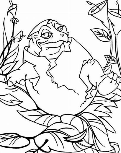 Land Coloring Before Pages Spike Born Printable