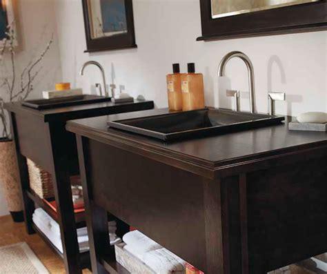 Contemporary Bathroom Vanities - Kemper Cabinetry