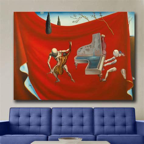 Music The Red Orchestra 1957 Salvador Dali Canvas