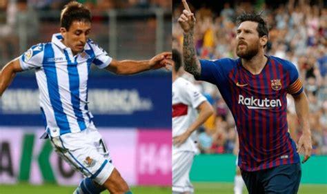 Mira DirecTV GRATIS, Barcelona vs. Real Sociedad en vivo ...