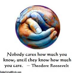 Nobody Cares How Much You Know Quote
