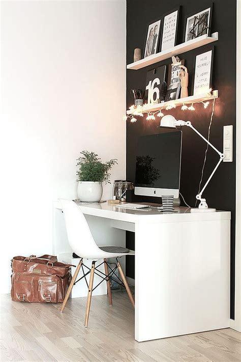 e bureau bureau minimaliste blanc style scandinave