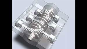 Boxer Flat  6 Cylinder Engine