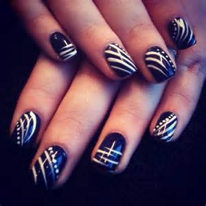 Freehand nail art designs trend manicure ideas in