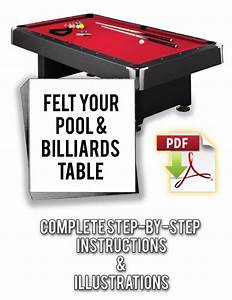 How To Refelt  Resurface  Cover Any Pool Table