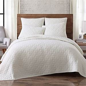 Buy brooklyn loom lincoln twin mini quilt in ivory from for Brooklyn loom bedding