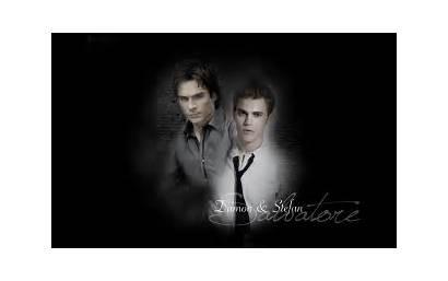 Diaries Vampire Damon Salvatore Stefan Wallpapers Desktop