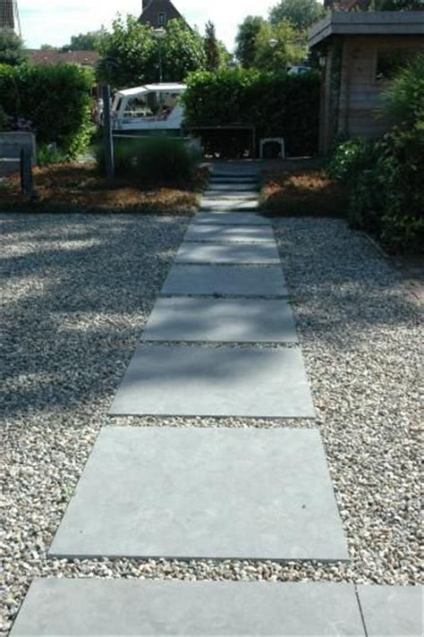 paving and gravel garden ideas simple concrete pavers with gravel garden paths that we fancy pinterest house concrete