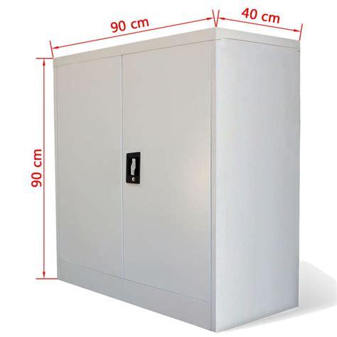 bureau 90 cm acheter armoire métallique de bureau avec 2 portes 90 cm