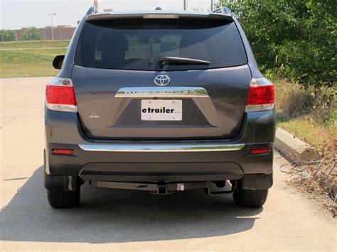 Toyota Highlander Hitch by 2009 Toyota Highlander Trailer Hitch Hitch