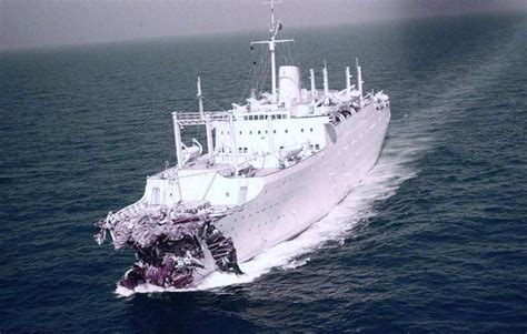 Ship Collision by Sinking Ship How Often Do Cruise Ships Collide Sea