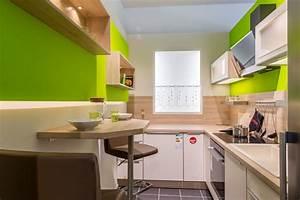 Moderne Küchen Für Kleine Räume : moderne k che f r kleine r ume ~ Frokenaadalensverden.com Haus und Dekorationen