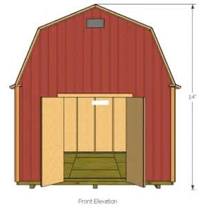 10 x 12 gambrel shed plans handyman magazine marskal