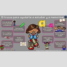 10 Trucos Para Ayudarte A Estudiar Y A Memorizar  Imagenes Educativas