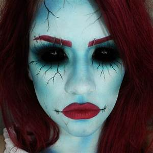 Ideen Für Halloween : halloween schminke f r frauen 42 gruselige makeup ideen ~ Frokenaadalensverden.com Haus und Dekorationen