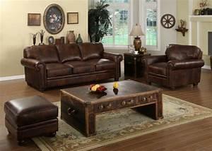 Le canape cuir vintage le chic et le fabuleux confort for Tapis de gym avec canapé vintage cuir marron