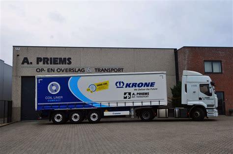 krone coil liner voor ad priems transport ttmnl