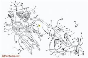 Ducati Rear Wiring Harness Monoposto P8 Ecu  916  916sps