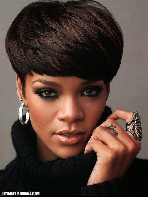 Photos Of Black Hairstyles by Rihanna Cut Hairstyle Hair