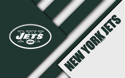 Download wallpapers New York Jets, AFC East, 4k, logo, NFL ...
