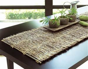 Chemin De Table Sets De Table Bambou