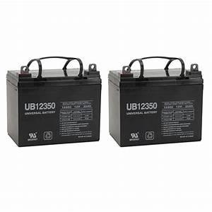 Sicherungsautomat 35 Ampere : upg 2 pack 12 volt 35 amp hour battery electric ~ Jslefanu.com Haus und Dekorationen