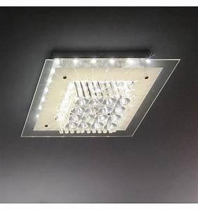 Luminaire Led Plafond : 100 luminaire plafond chambre le plafond led lampe ~ Edinachiropracticcenter.com Idées de Décoration