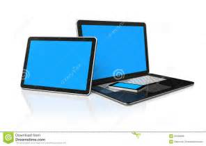 Computer Phone Tablet and Laptop
