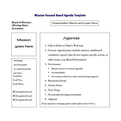meeting outline templates    premium